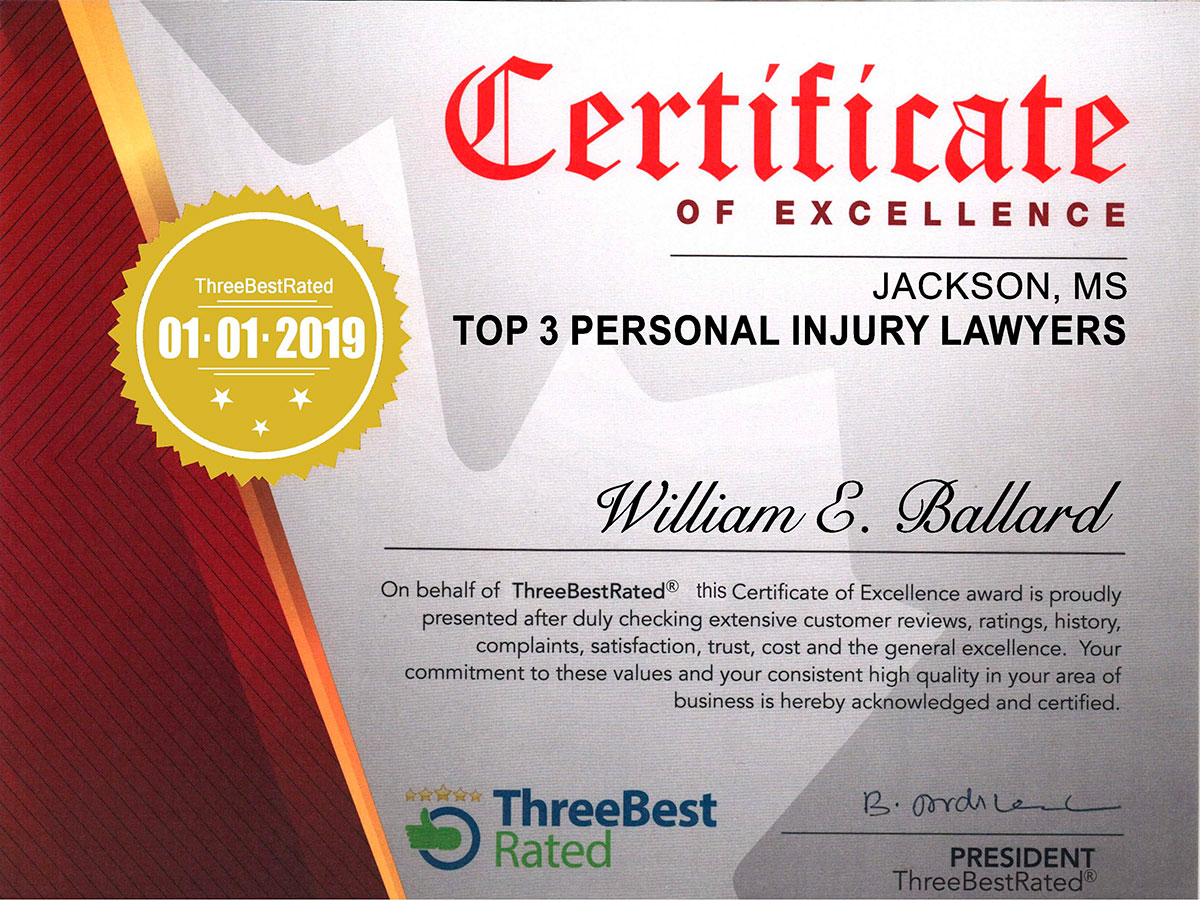 Jackson Accident Lawyers, Mississippi Personal Injury Attorneys